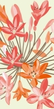 AKCE - Fototapeta DIMEX Orange Flowers S-339| 110 x 220 cm