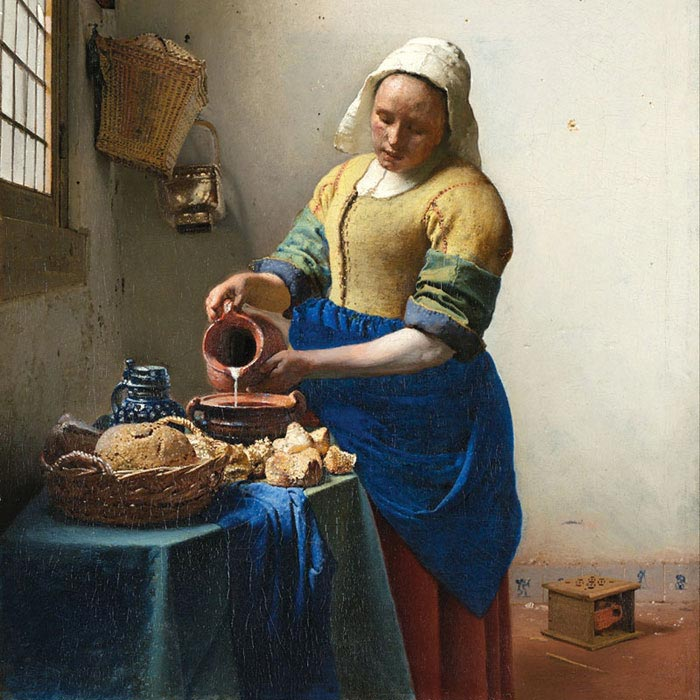 Fototapeta DIMEX The Kitchen Maid L-523| 220 x 220 cm