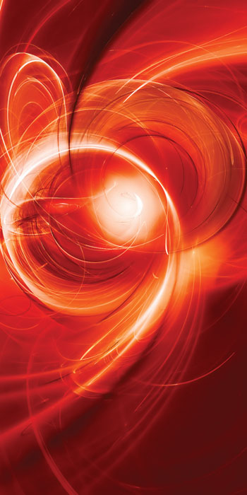 Fototapeta DIMEX Red Abstract S-198| 110 x 220 cm