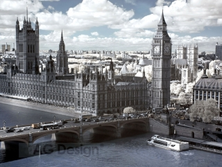 Fototapeta AG Design View of London FT 1427| 360 x 270 cm