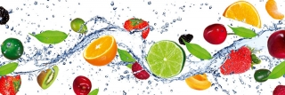 Fototapeta DIMEX Fruit in Water M-451| 330 x 110 cm