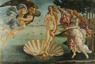 Fototapeta DIMEX Birth of Venus XL-498| 330 x 220 cm