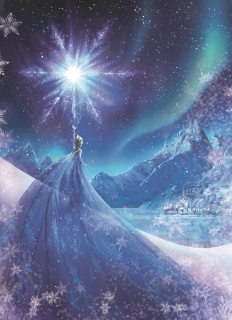 Fototapeta KOMAR Frozen Snow Queen 4-480